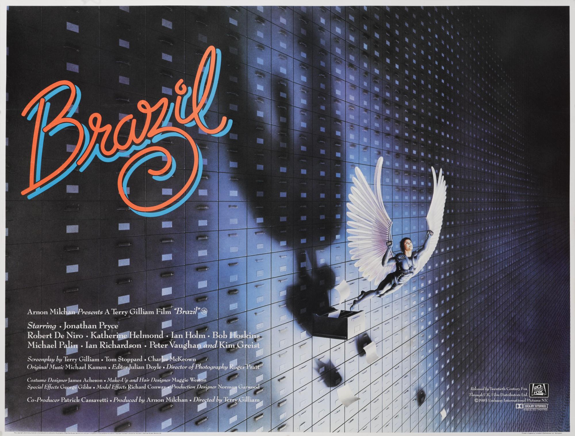 BRAZIL (1985) POSTER, BRITISH | Original Film Posters Online