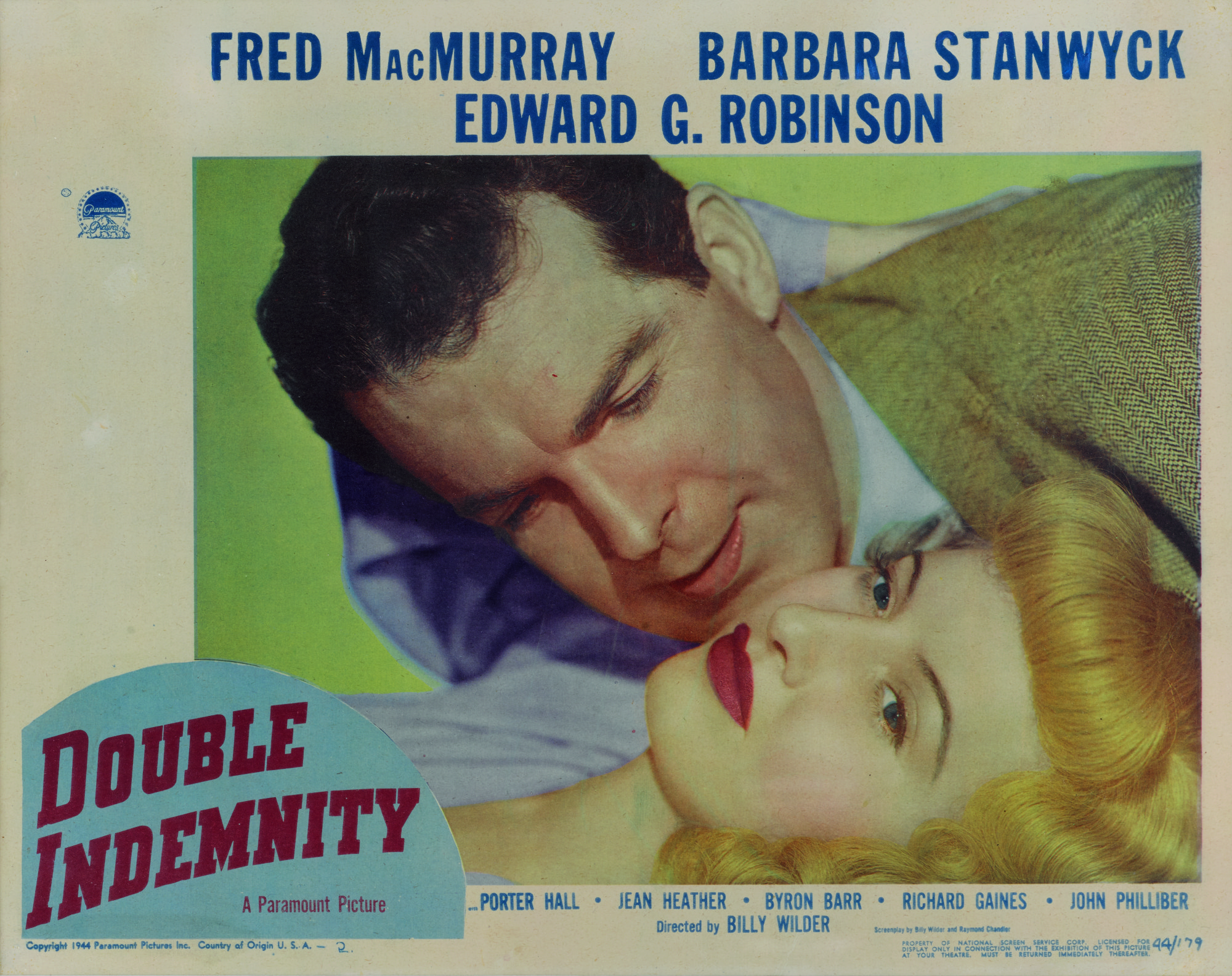 Double Indemnity Book